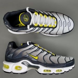 Nike Air Max Plus TN Bumble Bee Shoes 6.5 Gray